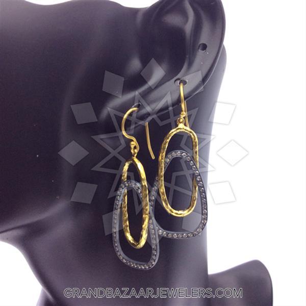 24 Karat Gold Earrings
