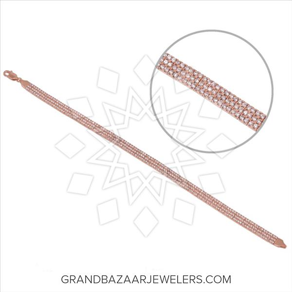 925 Silver Tennis Bracelets