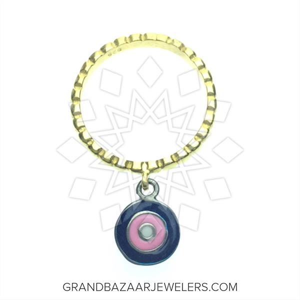 Artistic Enamel Jewelry Rings