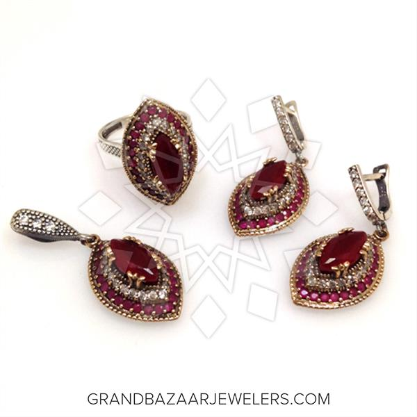 Classic Turkish Ottoman Jewelry Sets