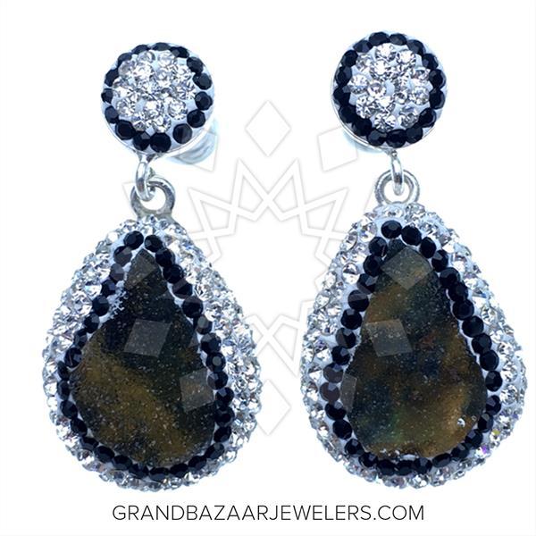 Crystal Clear Druzy  Pendant