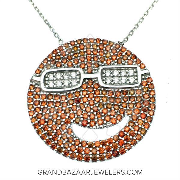 Emoji 925 Silver Necklace