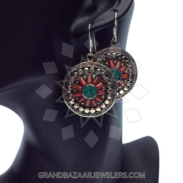 Ethnic Tribal Design Necklace