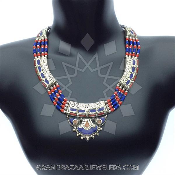 Ethnic Tribal Design Earrings