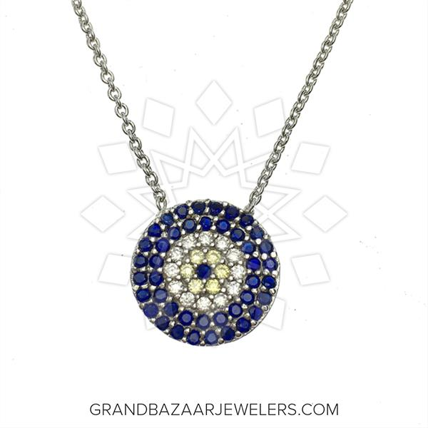 Evil Eye Fashion Jewelry Bijou Necklace