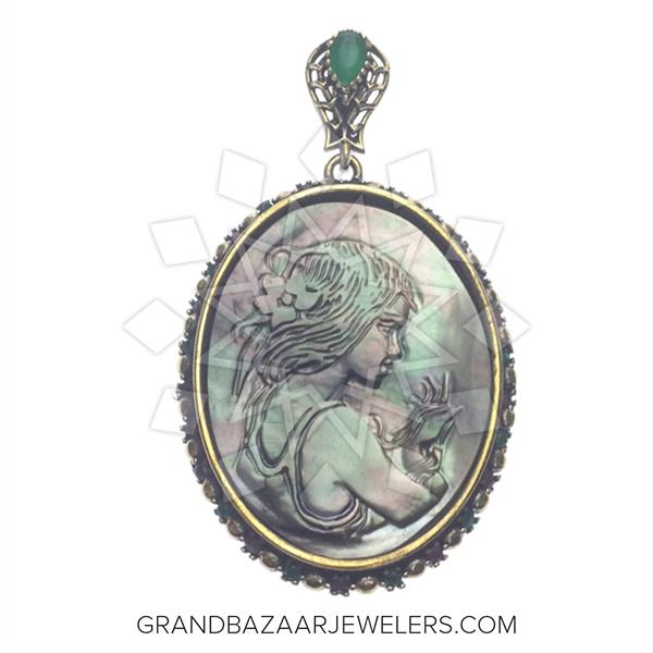 Grand Bazaar Designer Turkish Pendant