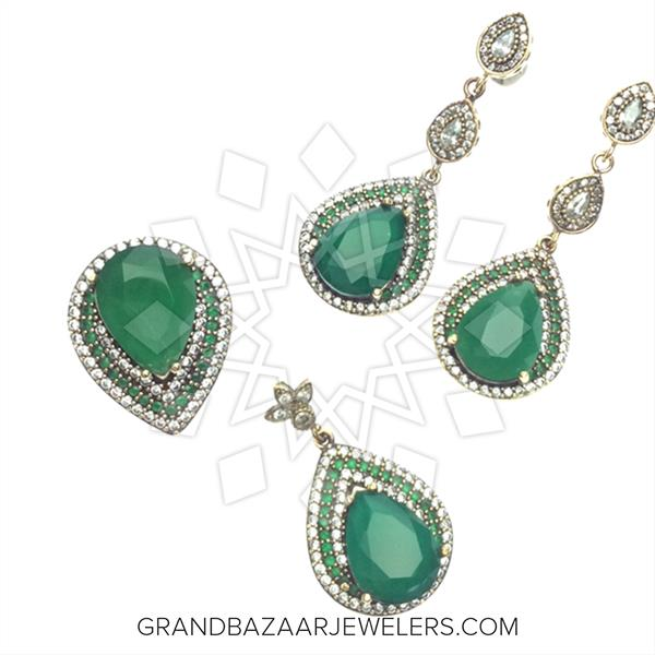 Hurrem Sultan Turkish Jewelry Sets