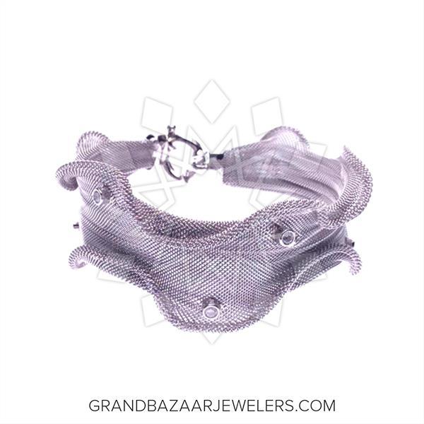 Modern Designer 925 Silver Pendant Necklace
