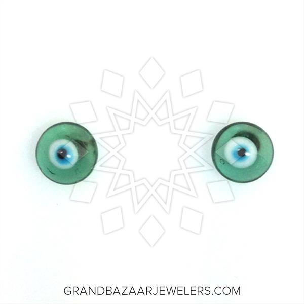 Murano Glass Evil Eye Earrings