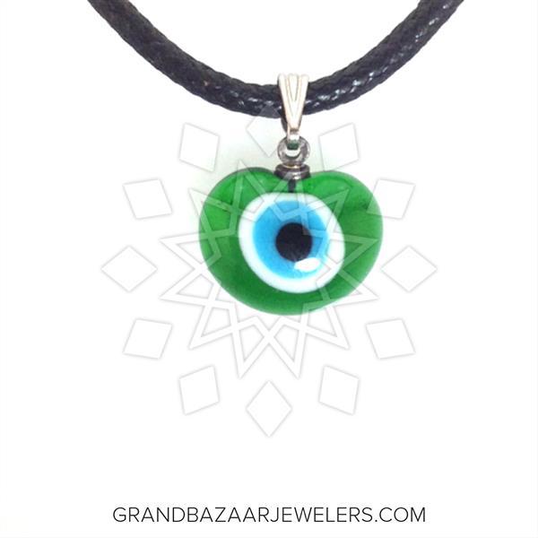 Murano Glass Evil Eye Pendant