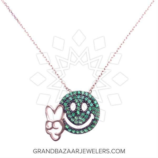 Emoji 925 Silver Necklace