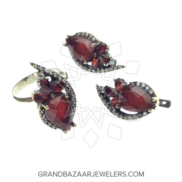 Unique Turkish Silver Jewelry Sets
