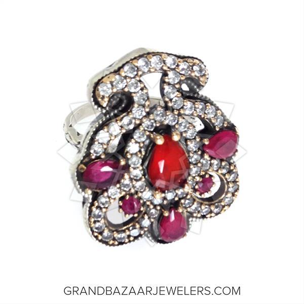 Vintage Antique Turkish Silver Rings