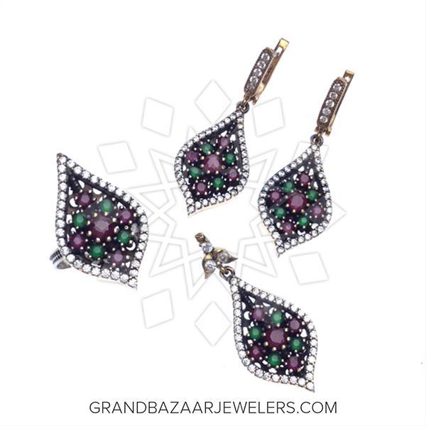 Vintage Turkish Silver Jewelry Sets